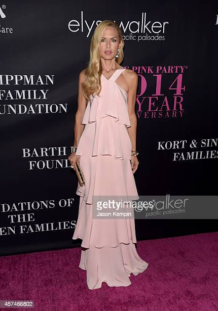 Designer Rachel Zoe attends Elyse Walker presents the 10th anniversary Pink Party hosted by Jennifer Garner and Rachel Zoe at HANGAR:8 on October 18,...