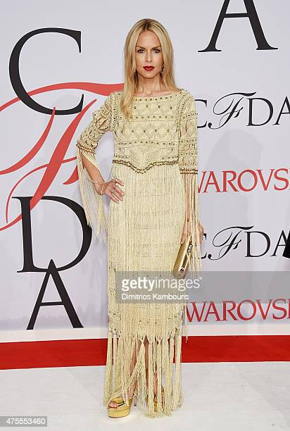 1da6c916a55 Designer Rachel Zoe attends the 2015 CFDA Fashion Awards at Alice Tully  Hall at Lincoln Center