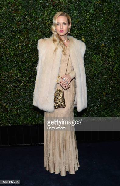 Designer Rachel Zoe attends the Charles Finch and CHANEL PreOscar Awards Dinner at Madeo Restaurant on February 25 2017 in Beverly Hills California
