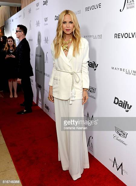 Designer Rachel Zoe attends The Daily Front Row 'Fashion Los Angeles Awards' 2016 at Sunset Tower Hotel on March 20 2016 in West Hollywood California