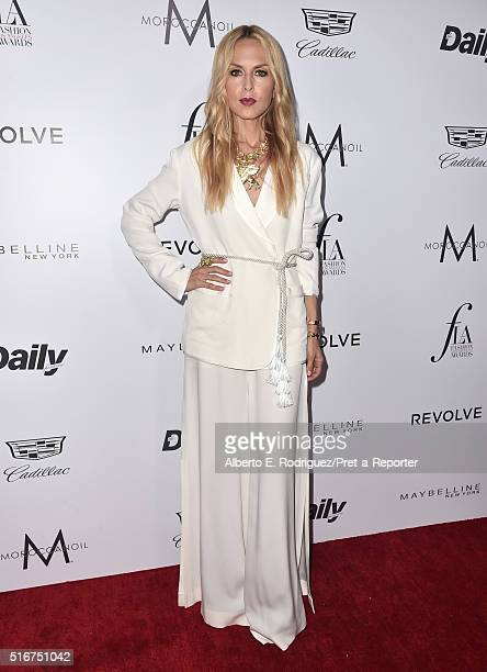 """Designer Rachel Zoe attends the Daily Front Row """"Fashion Los Angeles Awards"""" at Sunset Tower Hotel on March 20, 2016 in West Hollywood, California."""