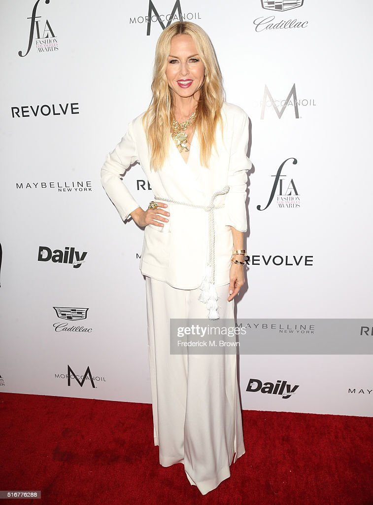 Designer Rachel Zoe attends the Daily Front Row 'Fashion Los Angeles Awards' at Sunset Tower Hotel on March 20, 2016 in West Hollywood, California.