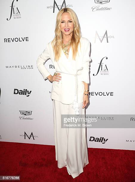 Designer Rachel Zoe attends the Daily Front Row Fashion Los Angeles Awards at Sunset Tower Hotel on March 20 2016 in West Hollywood California