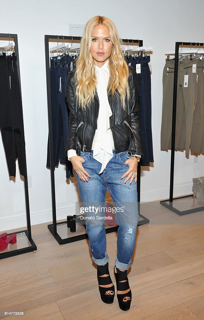 DL1961 x Jessica Alba Collection Event at the REVOLVE Social Club : News Photo