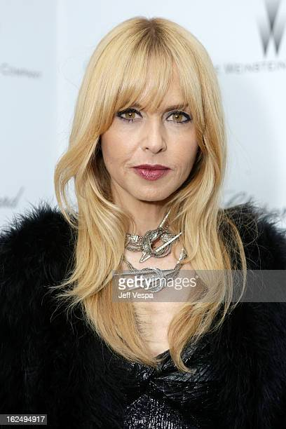Designer Rachel Zoe attends The Weinstein Company Academy Award Party hosted by Chopard at Soho House on February 23 2013 in West Hollywood California