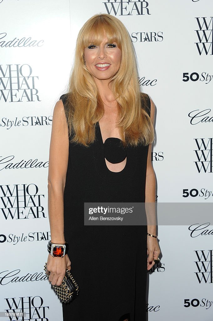 Designer Rachel Zoe attends the Who What Wear and Cadillac's 50 Most Fashionable Women of 2013 event at The London Hotel on October 24, 2013 in West Hollywood, California.