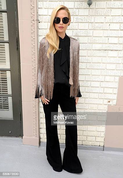 Designer Rachel Zoe attends Who What Wear's launch of their book 'The Career Code' at the Beverly Wilshire Hotel on May 11 2016 in Los Angeles...