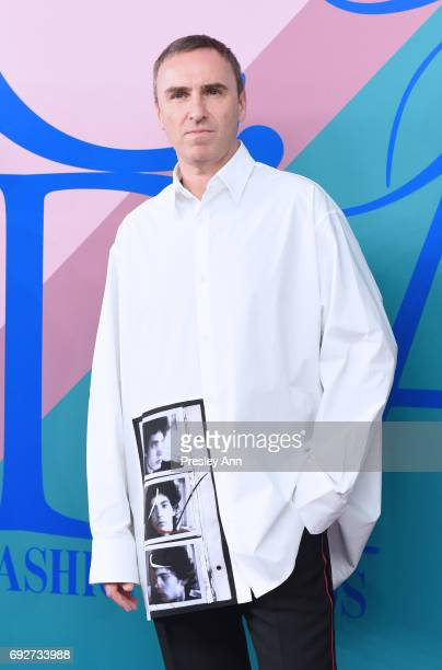 Designer Raf Simons attends the 2017 CFDA Fashion Awards at Hammerstein Ballroom on June 5, 2017 in New York City.