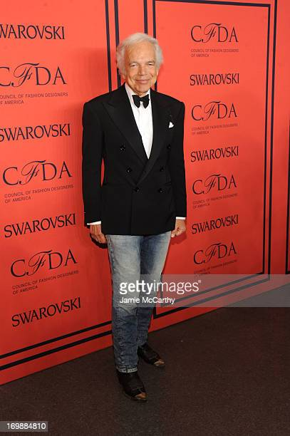 Designer Ralph Lauren attends the 2013 CFDA Fashion Awards on June 3 2013 in New York United States