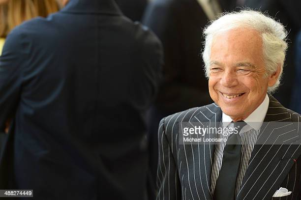Designer Ralph Lauren attends the Anna Wintour Costume Center Grand Opening at the Metropolitan Museum of Art on May 5 2014 in New York City