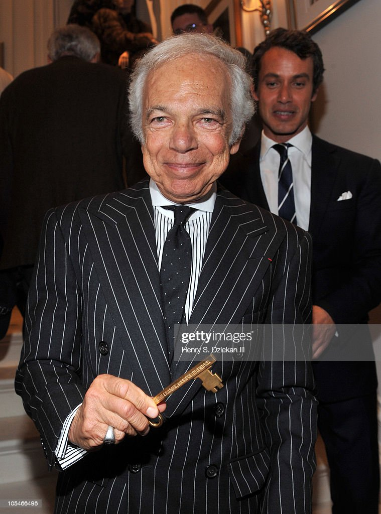 Ralph Lauren Receives Key To The City Of New York From Mayor Michael Bloomberg