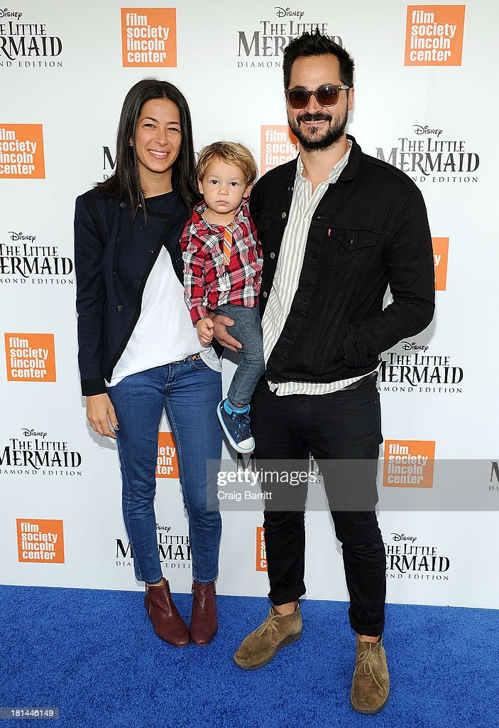 Designer Rebecca Minkoff (L) and actor Gavin Bellour attend Disney's The Little Mermaid special screening at Walter Reade Theater on September 21, 2013 in New York City.
