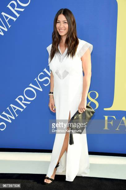 Designer Rebecca Minkoff attends the 2018 CFDA Fashion Awards at Brooklyn Museum on June 4 2018 in New York City