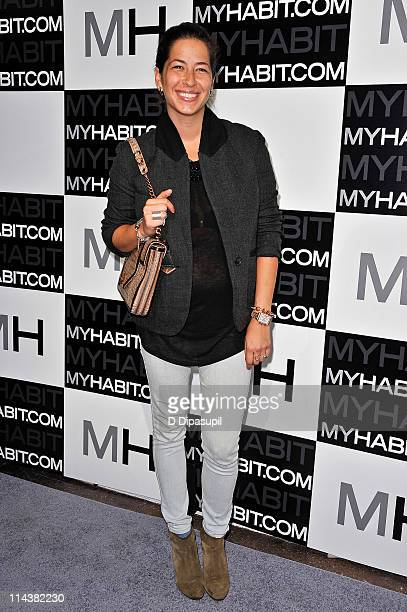 Designer Rebecca Minkoff attends the launch of MYHABITcom at Skylight West on May 18 2011 in New York City
