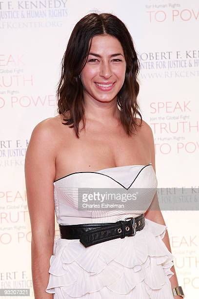 Designer Rebecca Minkoff attends the RFK Center Ripple of Hope Awards dinner at Pier Sixty at Chelsea Piers on November 18 2009 in New York City