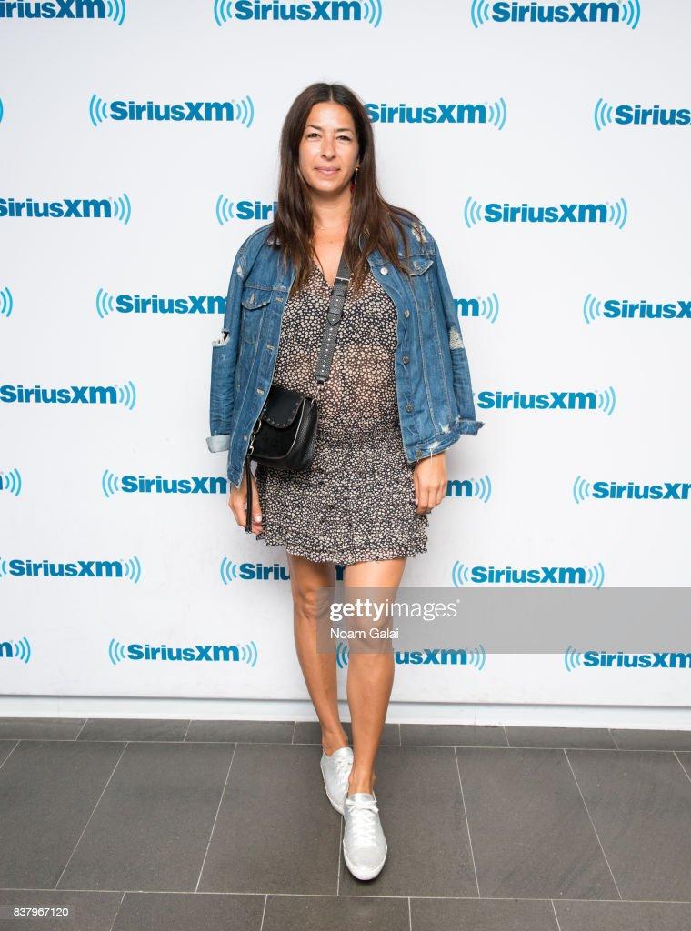 Designer Rebecca Minkoff visits the SiriusXM Studios on August 23, 2017 in New York City.