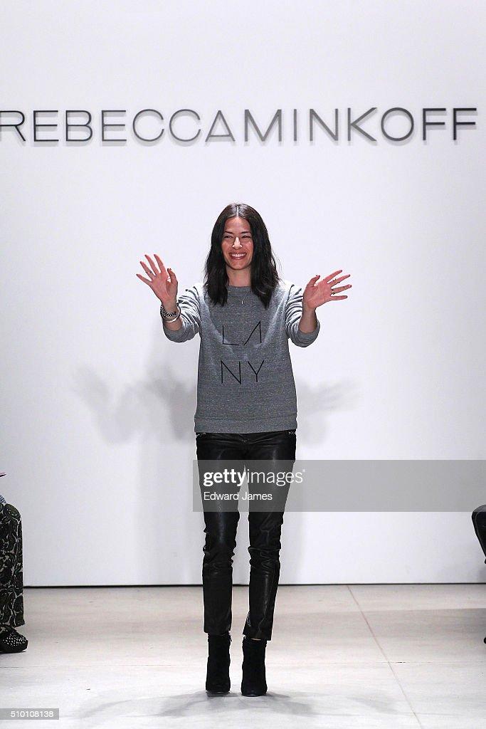 Rebecca Minkoff - Runway - Spring 2016 New York Fashion Week: The Shows