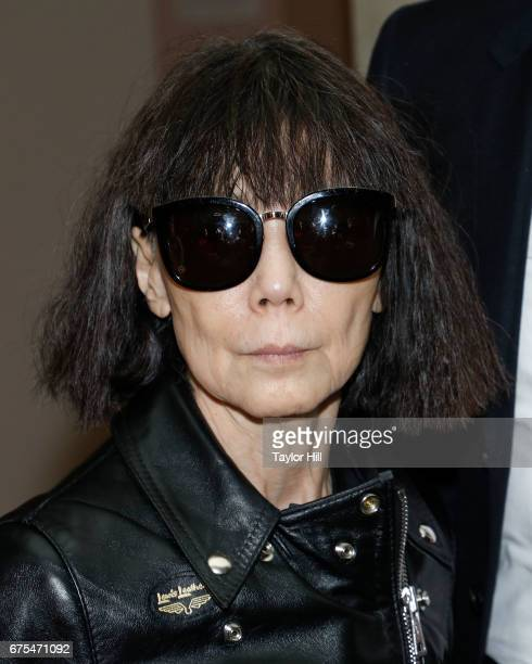 Designer Rei Kawakubo attends the press preview for 'Rei Kawakubo/Commes Des Garcons Art of the InBetween' at the Metropolitan Museum of Art on May 1...