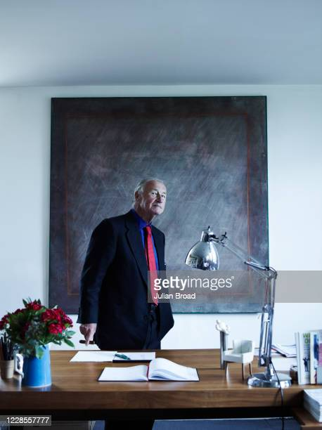 Designer restaurateur retailer and writer Sir Terence Conran is photographed for the Telegraph magazine on May 5 2011 in Kintbury England
