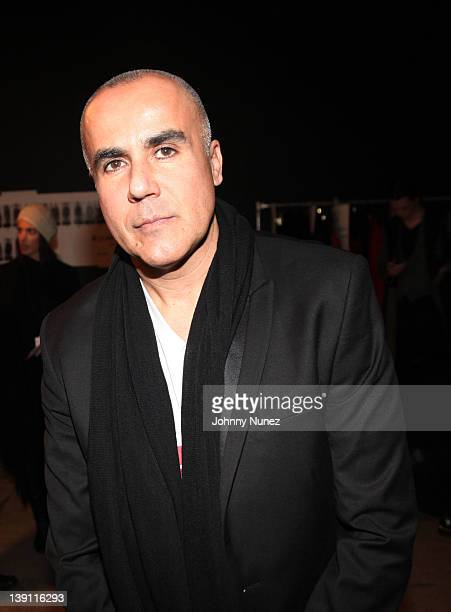 Designer Ricardo Seco attends the Ricardo Seco Primer fashion show at Exit Art on February 16 2012 in New York City