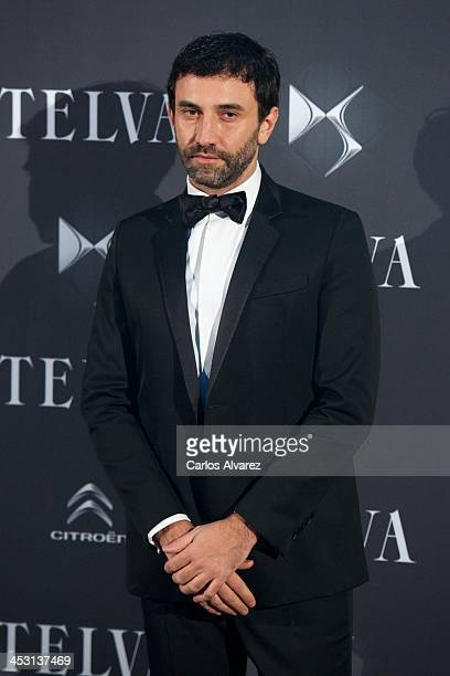 Designer Riccardo Tisci attends the Telva Magazine Fashion Awards 2013 at the Palacio de Cibeles on December 2 2013 in Madrid Spain