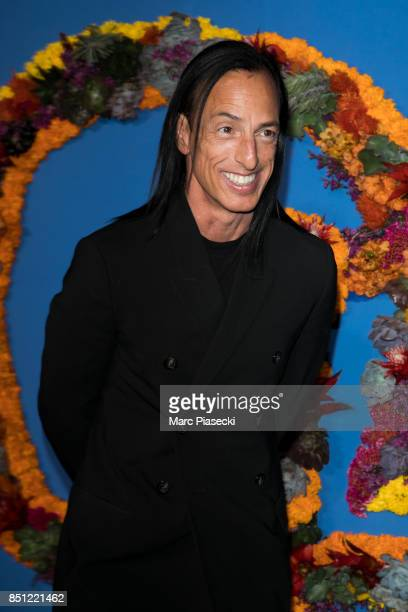 Designer Rick Owens attends the Opening Season Gala at Opera Garnier on September 21 2017 in Paris France
