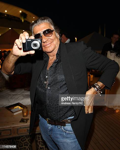 Designer Roberto Cavalli attends a private dinner on the Cavalli yacht during the 64th Annual Cannes Film Festival on May 18 2011 in Cannes France