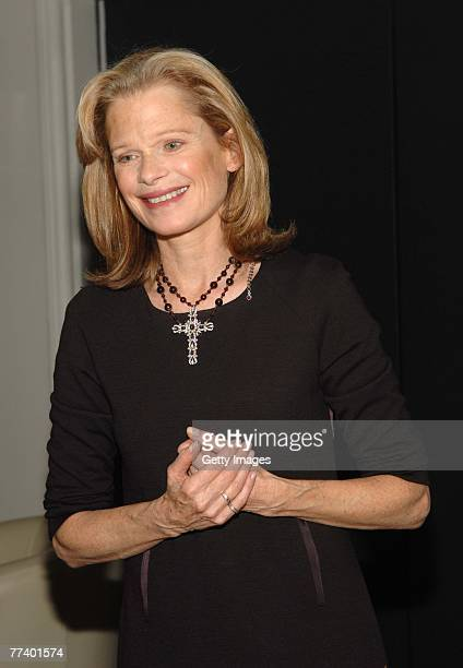 Designer Robin Bell attends a party for Robin Bell at STK on October 15 2007 in New York City