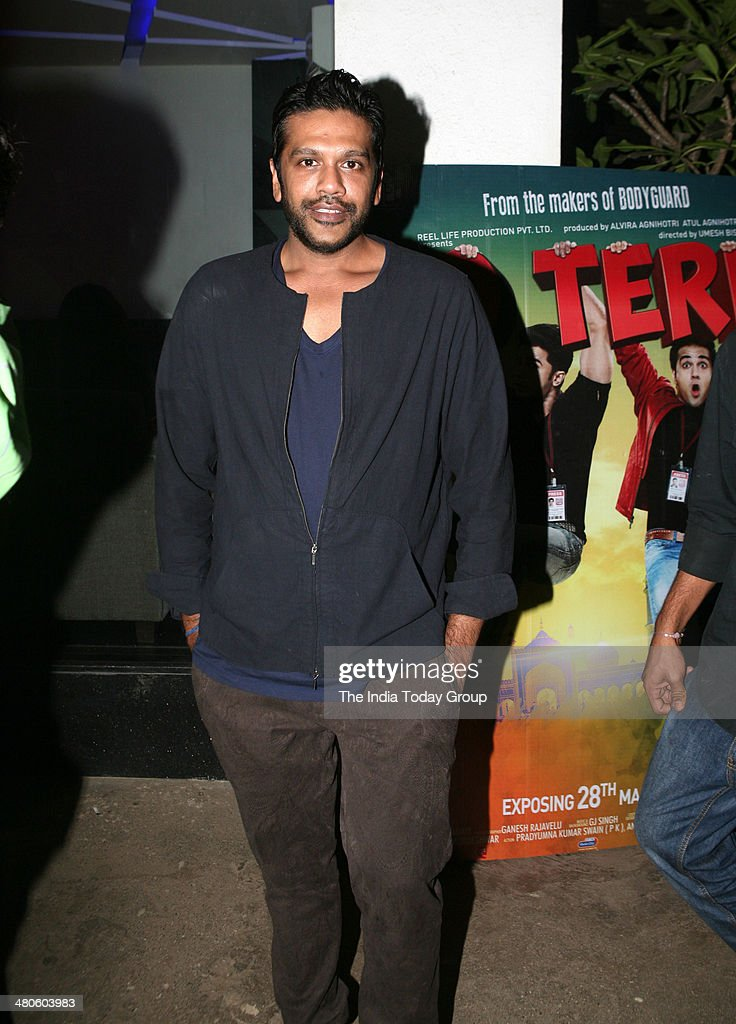 Designer Rocky S at the screening of the movie Dishkiyaaoon in Mumbai.