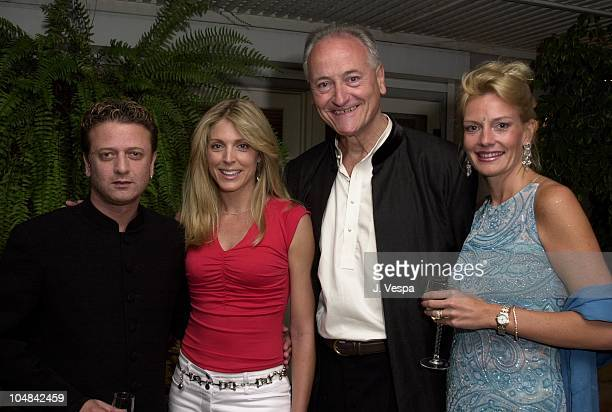 Designer Rohit Bal Marla Maples Richard Celeste former Ambassador to India and his wife Jacqueline Lundquist