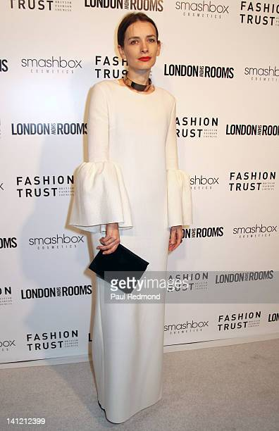 Designer Roksanda Ilincic arrives at British Fashion Council's International Showcasing Initiative London Show Rooms LA Cocktail Party at Smashbox...