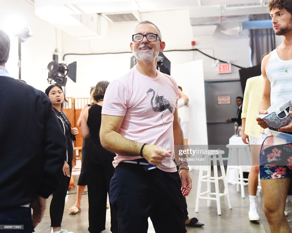 820f07f4caa8 Parke And Ronen - Backstage - July 2018 New York City Men s Fashion Week    News