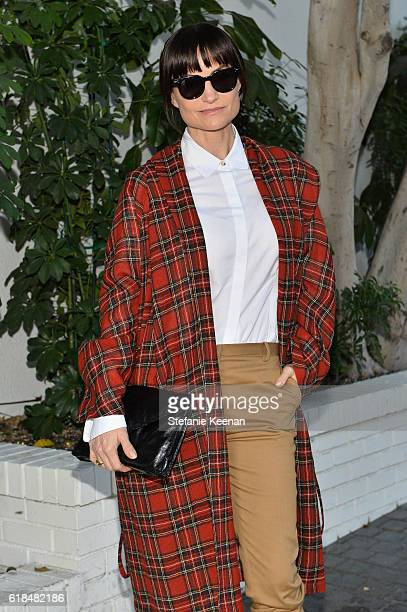 Designer Rosetta Getty at the CFDA/Vogue Fashion Fund Show and Tea presented by kate spade new york at Chateau Marmont on October 26, 2016 in Los...