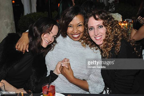 Designer Rosetta Getty, Brigette Romanek and stylist Jen Rade join NET-A-PORTER as they celebrate Hollywood style at Chateau Marmont on November 12,...