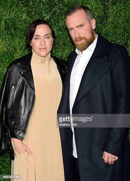 Designer Ryan Roche attends the 12th annual CFDA/Vogue Fashion Fund Awards at Spring Studios on November 2, 2015 in New York City.