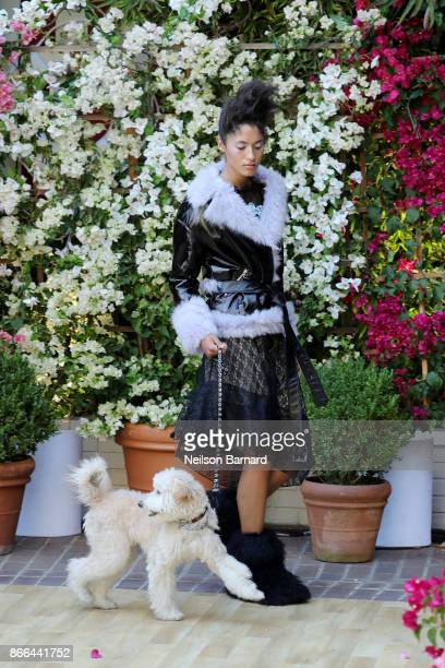 Designer Sandy Liang at CFDA/Vogue Fashion Fund Show and Tea at Chateau Marmont at Chateau Marmont on October 25 2017 in Los Angeles California