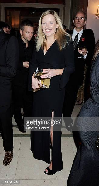 Designer Sarah Burton attends the Harper's Bazaar Women Of The Year Awards in association with Estee Lauder and NETAPORTER at Claridges Hotel on...