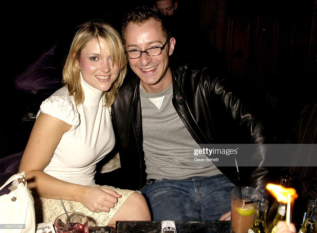 Designer Scott Henshall With Footballers Wives Actress Catherine Monagan, 'The Banger Sisters' Movie Premiere Held At The Warner West End, Then The Party At Jewel In Picadilly, London
