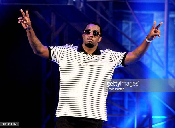 Designer Sean Combs onstage at Macy's Passport Presents: Glamorama - 30th Anniversary in Los Angeles held at Orpheum Theatre on September 7, 2012 in...