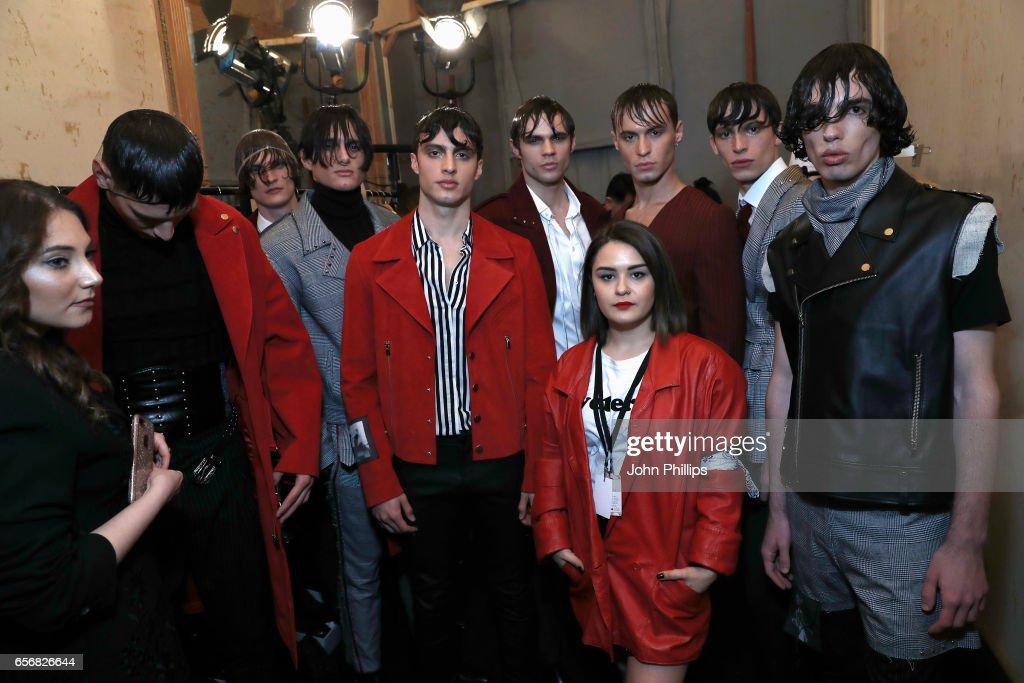 New Gen - Backstage - Mercedes-Benz Fashion Week Istanbul - March 2017 : News Photo