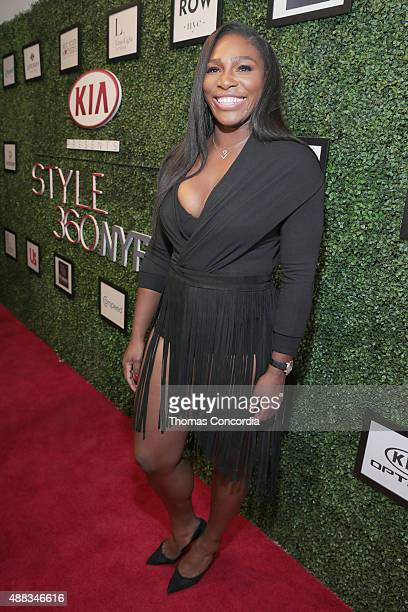 Designer Serena Williams attends the KIA STYLE360 Hosts Serena Williams Signature Collection By HSN on September 15 2015 in New York City