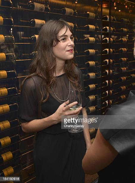 Designer Shaina Mote attends GenArt's 14th Annual Fresh Faces In Fashion Intimate Dinner at Andaz on October 15 2012 in West Hollywood California