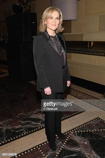 Designer Sherri Hill attends the Sherri Hill NYFW Fall 2017 Runway Show at Gotham Hall on February 13 2017 in New York City