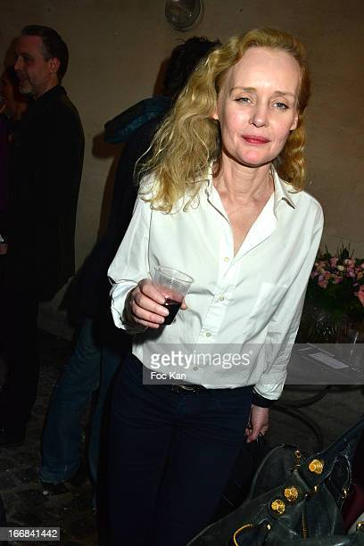 Designer Sibylle de Saint Phalle attends 'Les Racines De La Ville' Aramy Machry' s Photo Exhibition Preview At 'Le Plac Art' Gallery on April 17 2013...