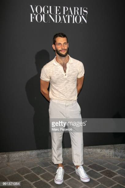 Designer Simon Porte Jacquemus attends the Vogue Foundation Dinner Photocall as part of Paris Fashion Week Haute Couture Fall/Winter 20182019 at...