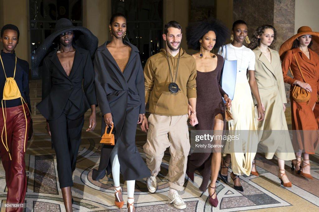 Jacquemus: Backstage - Paris Fashion Week Womenswear Fall/Winter 2018/2019 : News Photo