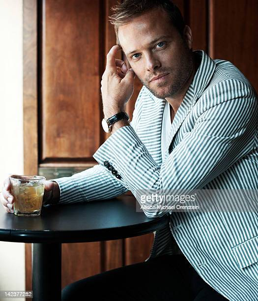 [Designer Simon Spurr is photographed for Esquire Magazine on August 19 2011 in New York City PUBLISHED IMAGE