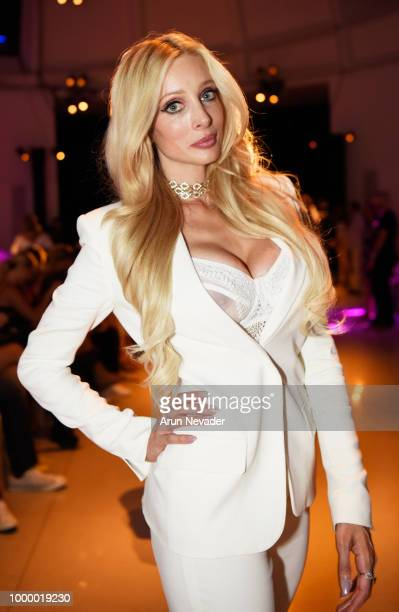 Designer Solveig Cirone attends Miami Swim Week powered by Art Hearts Fashion Swim/Resort 2018/19 at Faena Forum on July 15 2018 in Miami Beach...