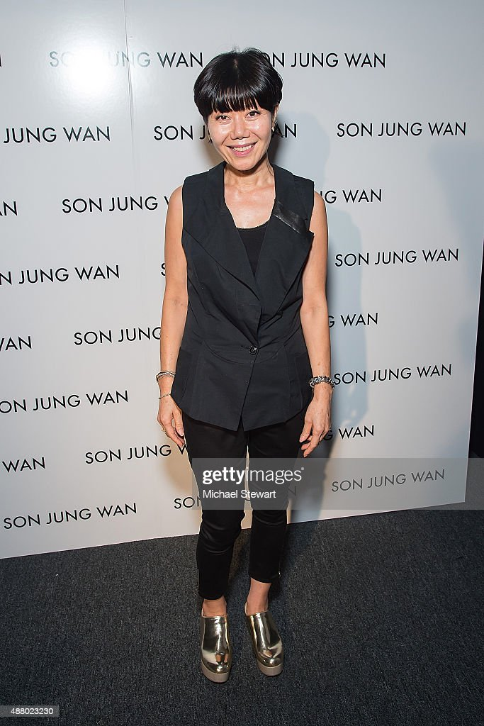 Son Jung Wan - Front Row & Backstage - Spring 2016 New York Fashion Week: The Shows