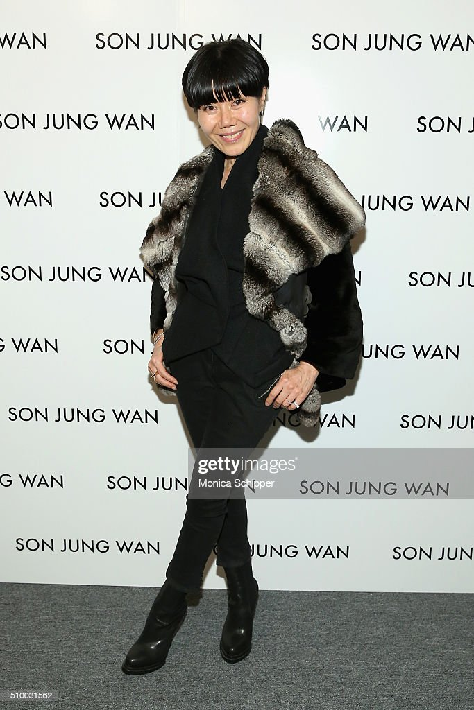 Son Jung Wan - Backstage - Fall 2016 New York Fashion Week: The Shows